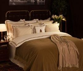 Superior Bed in Beige