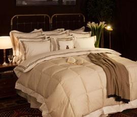 Superior Comforter in Beige