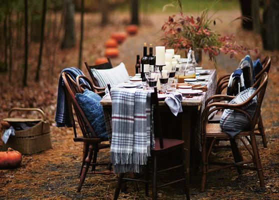 A Seasonal Table Setting