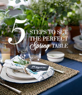 The Perfect Spring Table Setting