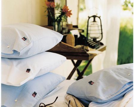 Pin Point Pillowcase, White