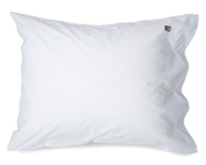 Pin Point Pillowcase, White