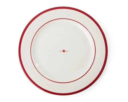 Dinner Plate Red