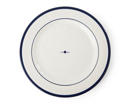 Dinner Plate Blue
