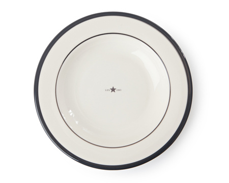 Soup Plate Gray