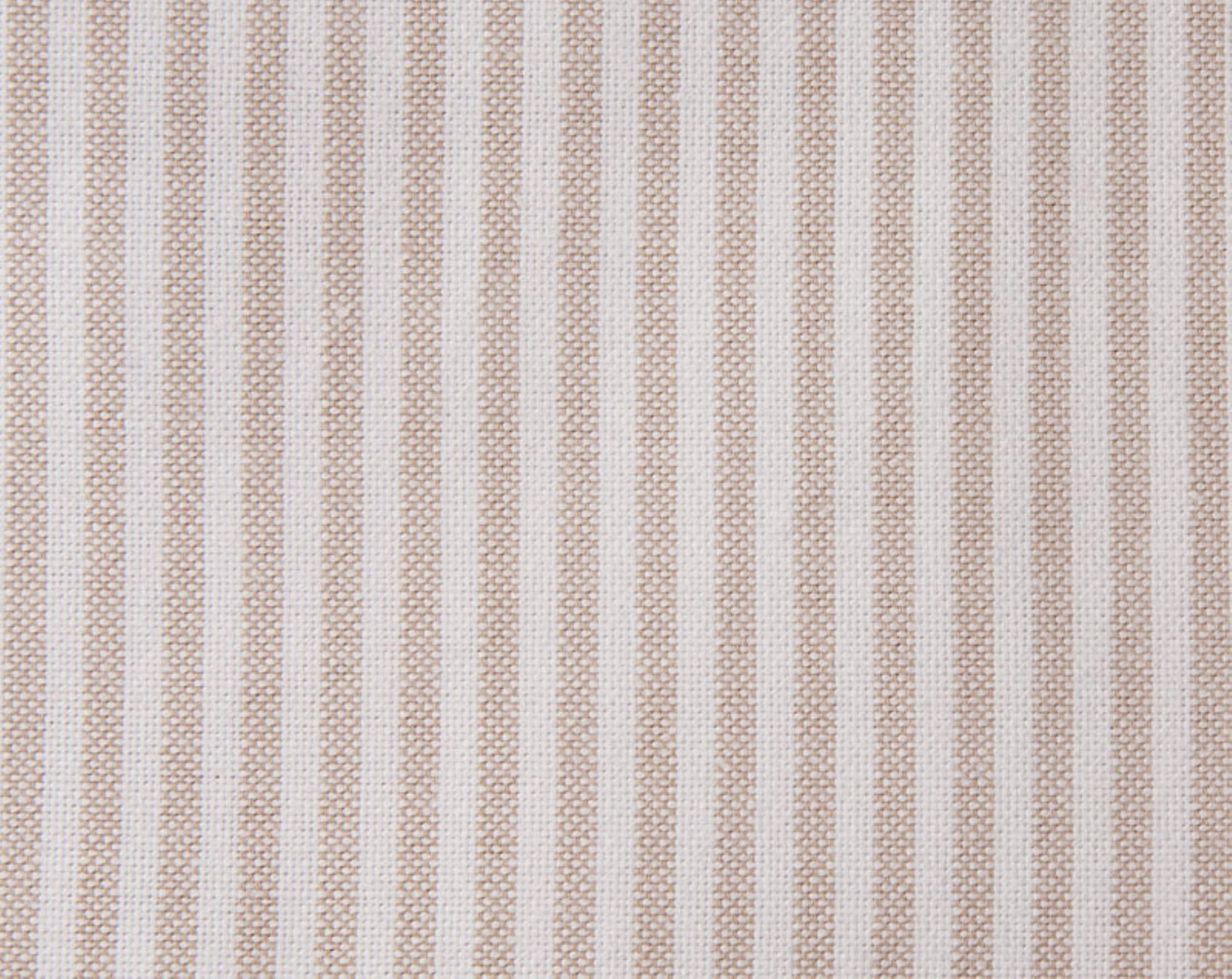 Pin Point Duvet, Beige/White