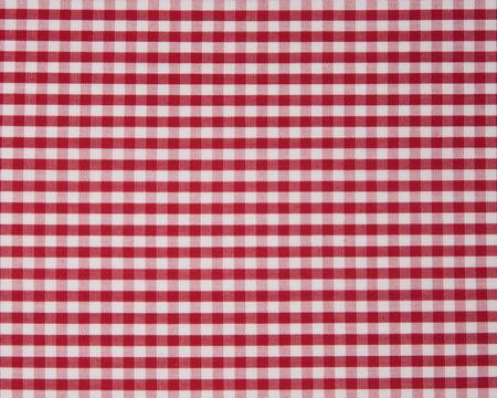 Seaside Check Duvet, Red/White
