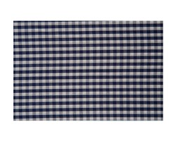 Seaside Check Duvet, Navy/White