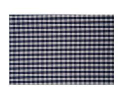 Seaside Check Pillowcase, Navy/White