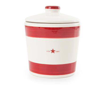 Earthenware Cookie Jar