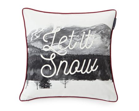 Photoprint Snow Sham