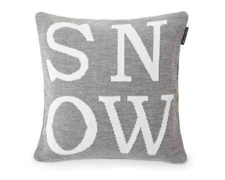 Knitted Snow Sham