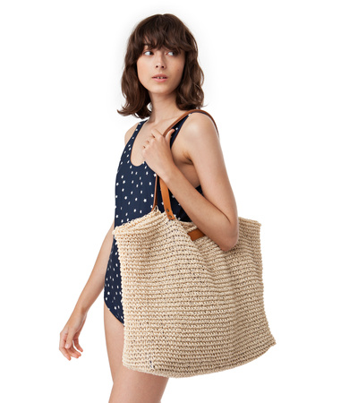 Riverside Straw Bag