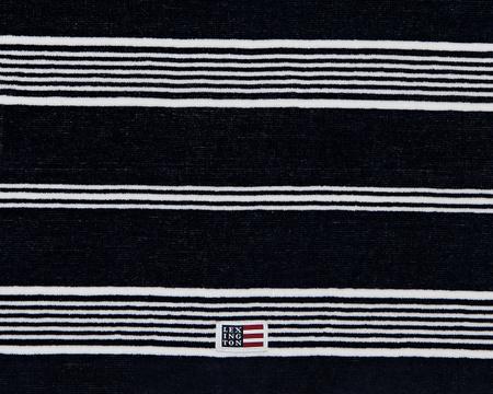 Striped Velour Towel Dress Blue/White