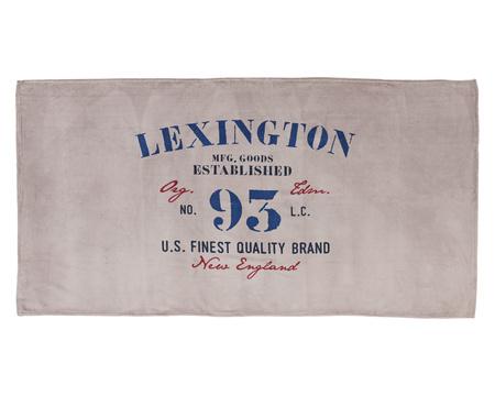 Lexington Velour Beach Towel