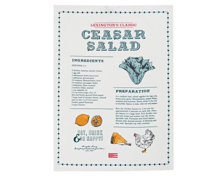 Ceasar Salad Kitchen Towel