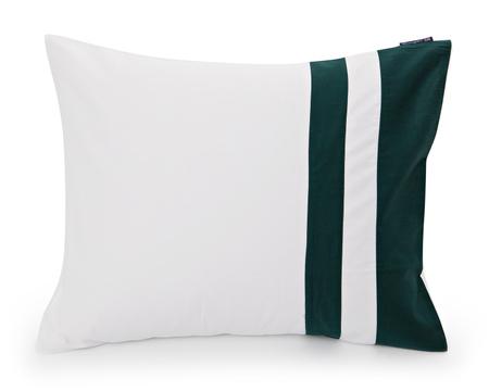 Green Border Sateen Pillowcase