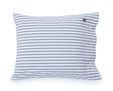 Blue Poplin Stripe Pillowcase