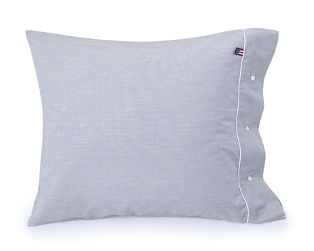 Gray Chambray Pillowcase