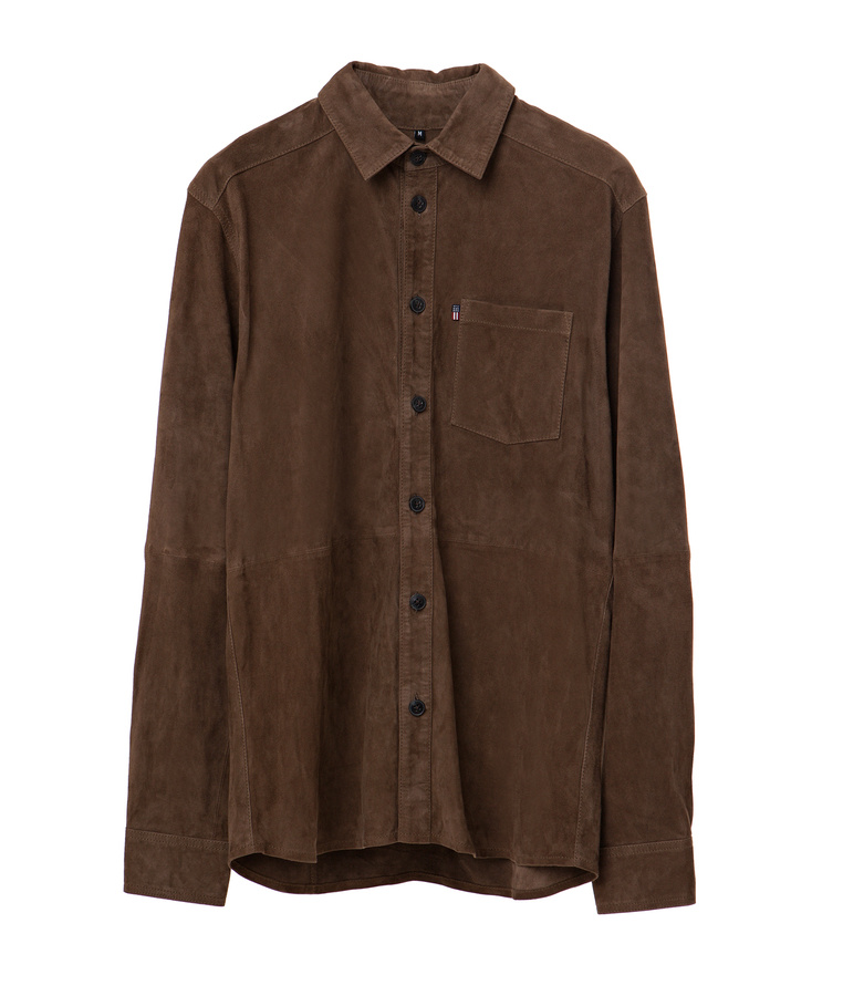 Keith Suede Shirt