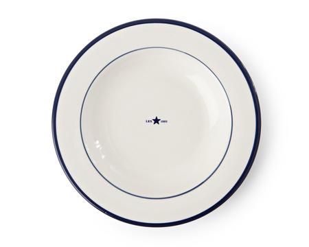 Soup Plate Blue