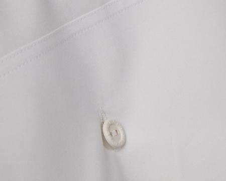 Icons Poplin Pillowcase, White