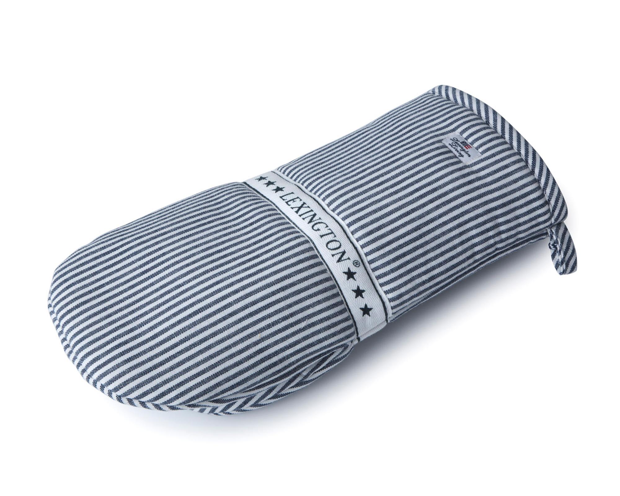 Oxford Striped Mitten