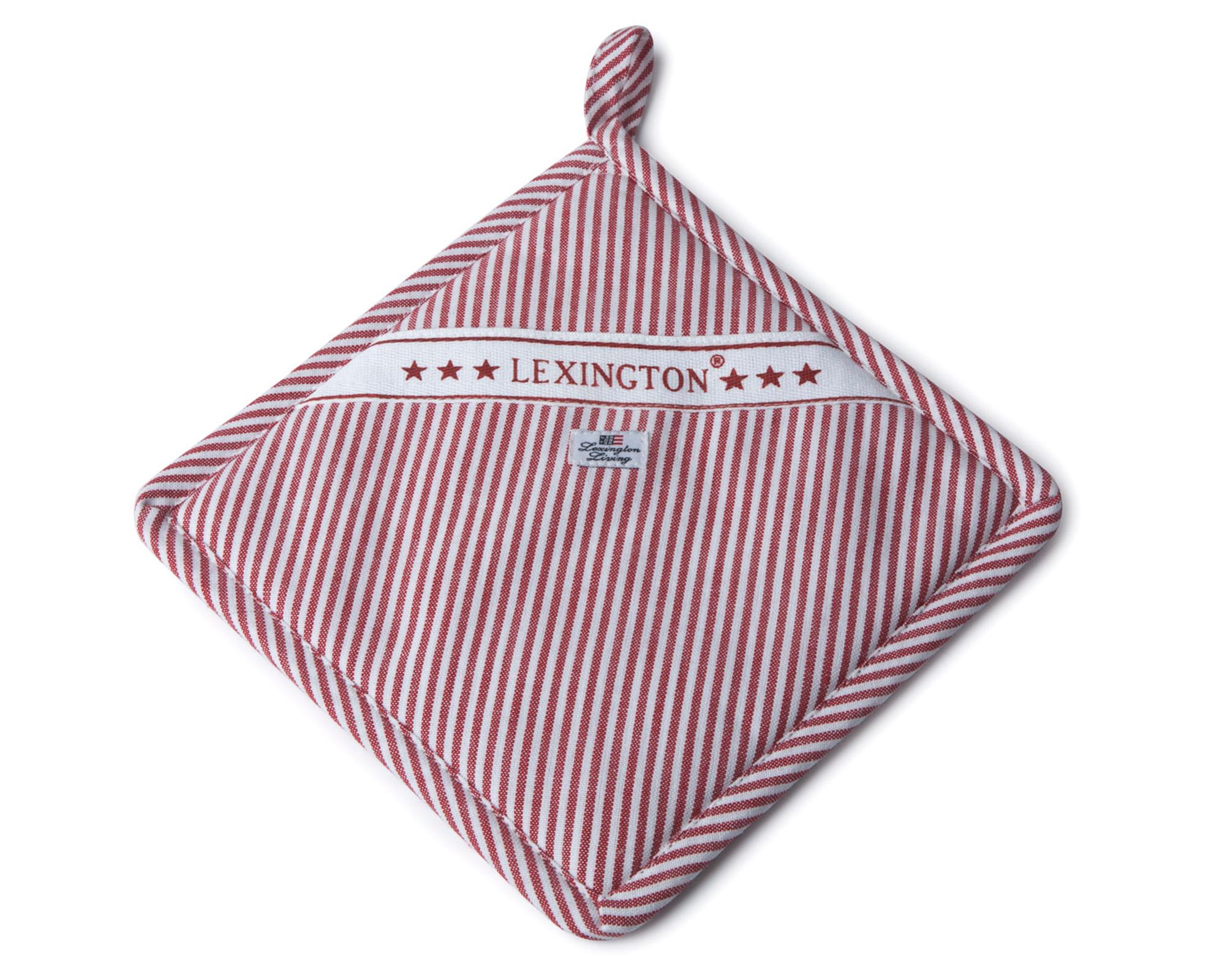 Oxford Striped Potholder