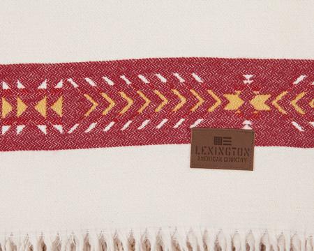 Striped Cotton Throw