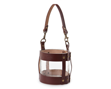Leather Lantern Small