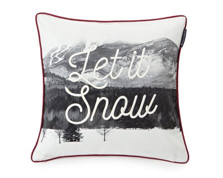 Photoprint Snow Sham