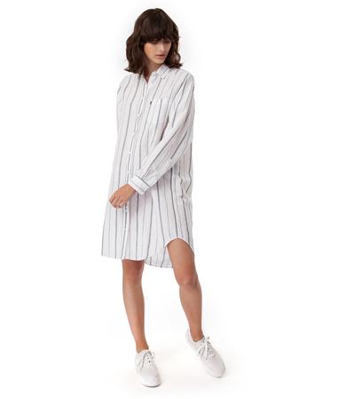 Hana Linen Shirt Dress