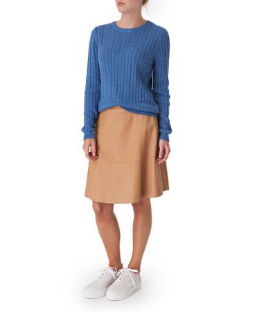 Helen Leather Skirt