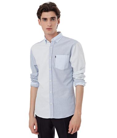 Baker Multi Stripe Oxford Shirt