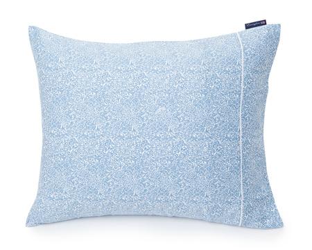 Blue Printed Sateen Pillowcase
