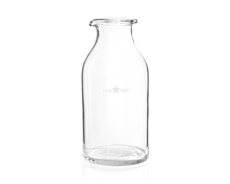 Milk Glass Bottle, Medium