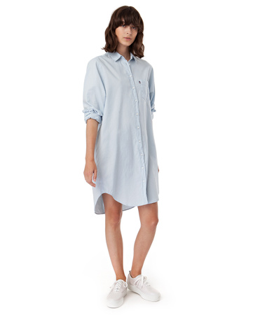 Hana Oxford Shirt Dress