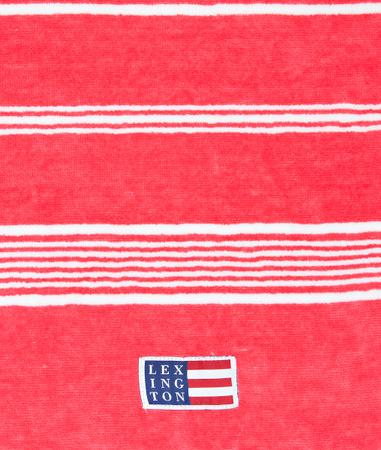 Striped Velour Towel