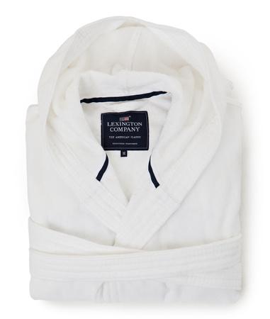 Hood Velour Robe