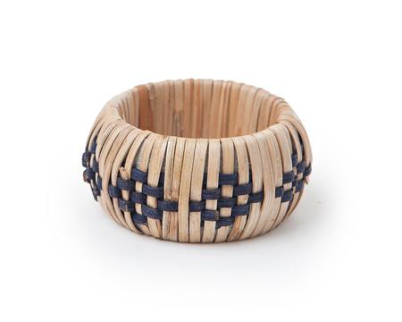 Pattern Rattan Napkin Ring
