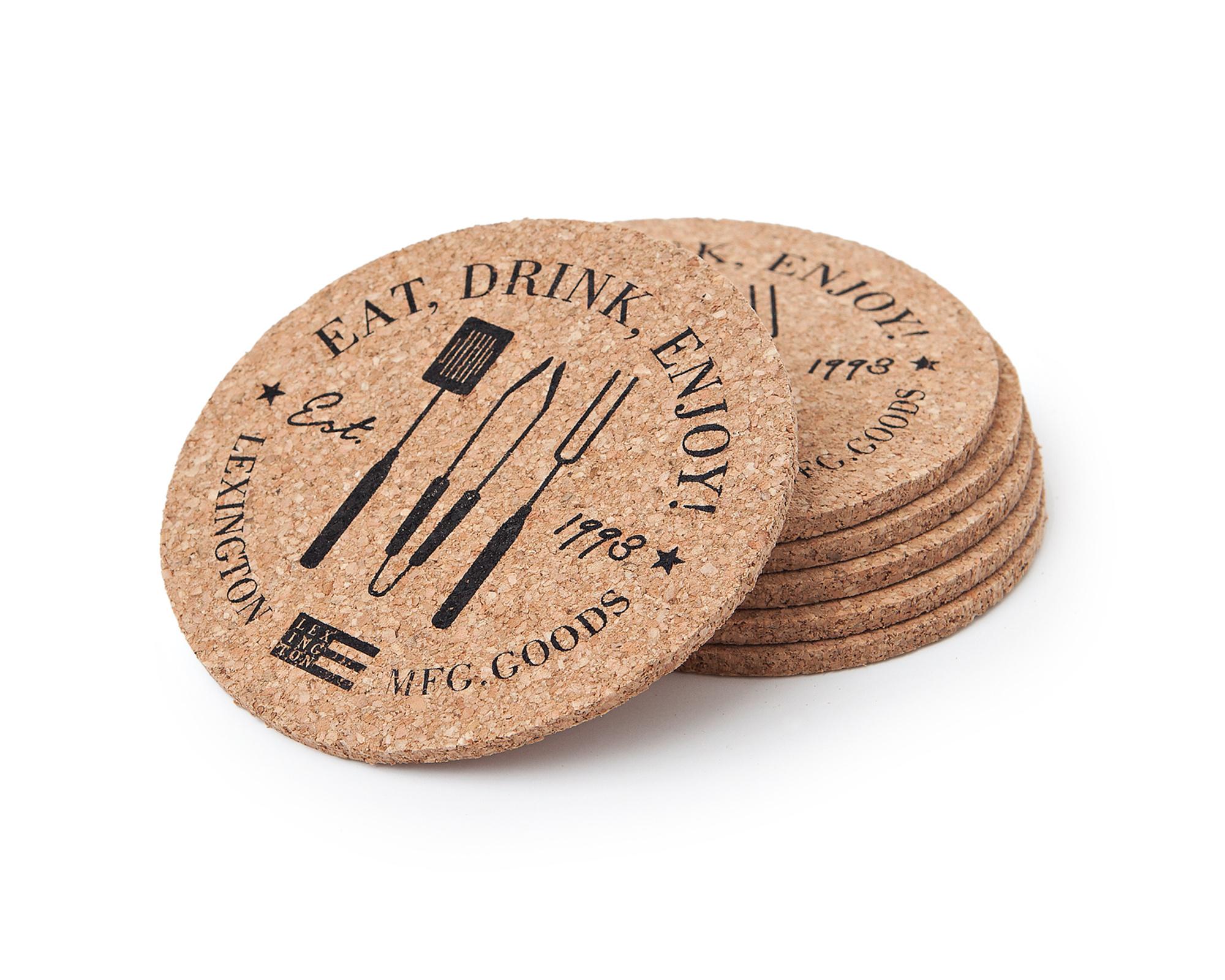 drink coaster - cork drink coaster