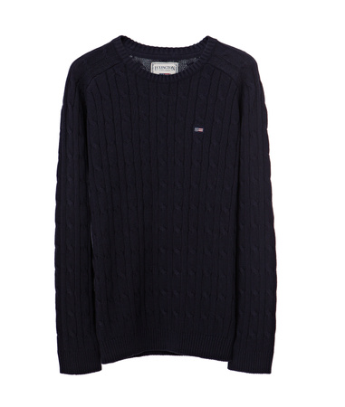 Andrew Cotton Cable Sweater