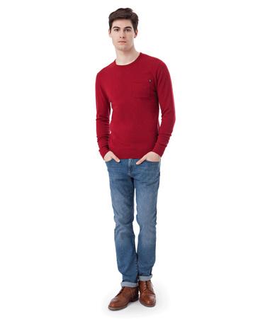 Jeff Crew Neck Sweater