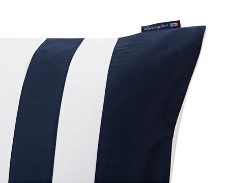 Blue Border Sateen Pillowcase