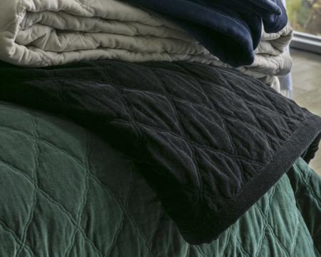 Quilt Velvet Bedspread