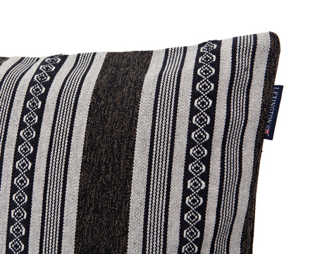 Jacquard Striped Sham
