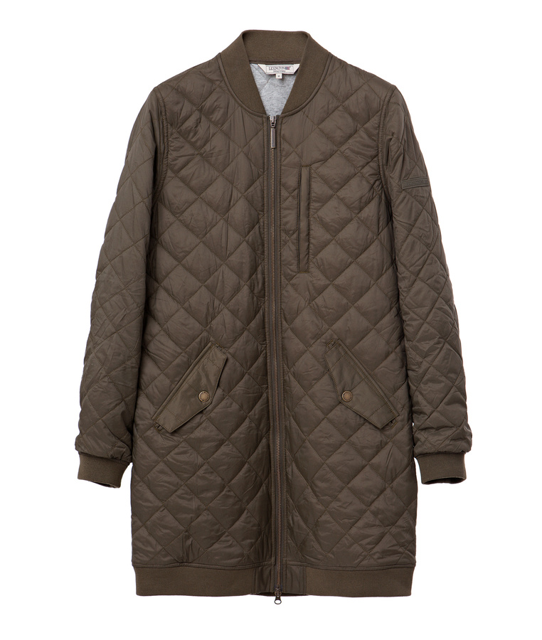 Liv Quilted Long Jacket