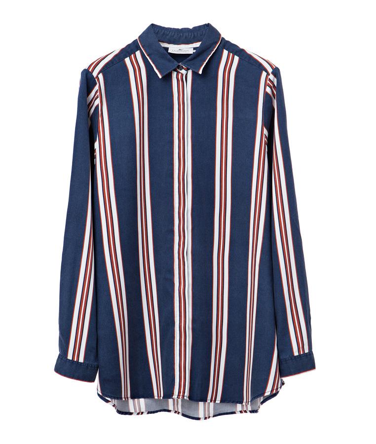 Penelope Stripe Lyocell Shirt