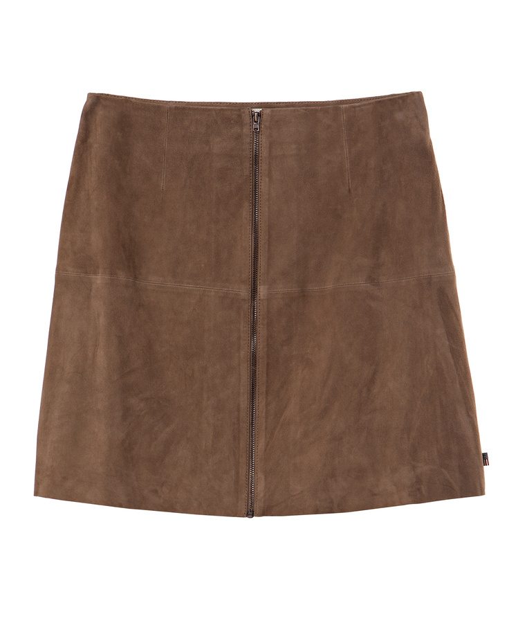 Kylie Suede Skirt