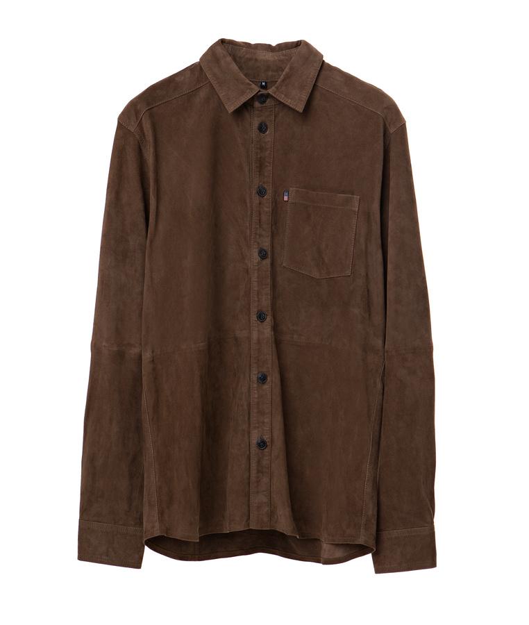 Keith Suede Shirt